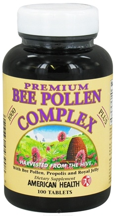 DROPPED: American Health - Premium Bee Pollen Complex 1000 mg. - 100 Tablets CLEARANCED PRICED