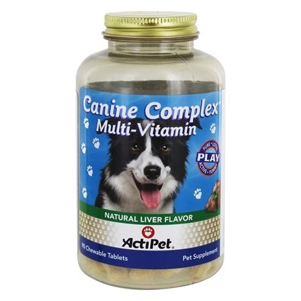 ActiPet - Canine Complex For Dogs - 90 Chewable Tablets