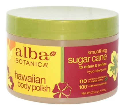Alba Botanica - Alba Hawaiian Body Polish Sugar Cane - 10 oz.