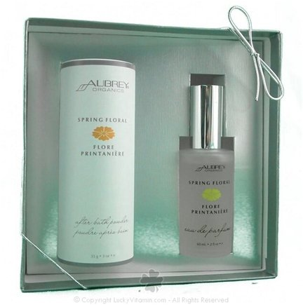 DROPPED: Aubrey Organics - Fragrance Gift Set- Spring Floral with Free Afterb - 1 Gift Set