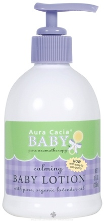 DROPPED: Aura Cacia - Baby Calming Baby Lotion - 8 oz.