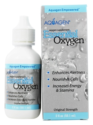 Aquagen - Essential Oxygen Supplement - 2 oz.