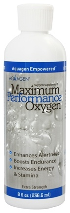 Aquagen - Maximum Performance Oxygen Supplement - 8 oz.