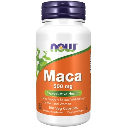 NOW Foods - Maca 500 mg. - 100 Capsules
