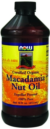 DROPPED: NOW Foods - Macadamia Nut Oil - 16 oz.