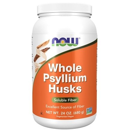 NOW Foods - Psyllium Husk Whole - 24 oz.