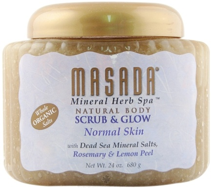 DROPPED: Masada - Mineral Body Scrub Normal Skin - 24 oz.
