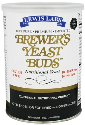 DROPPED: Lewis Labs - Brewer's Yeast Buds Nutritional Yeast - 14 oz.