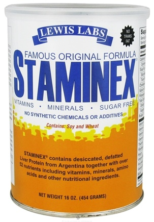 DROPPED: Lewis Labs - Staminex - 16 oz. CLEARANCE PRICED