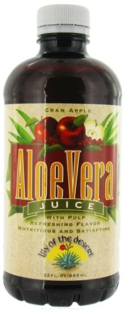 DROPPED: Lily Of The Desert - Aloe Juice Cranberry Apple - 32 oz. CLEARANCE PRICED