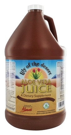 Lily Of The Desert - Aloe Vera Juice Organic Gallon - 128 oz.
