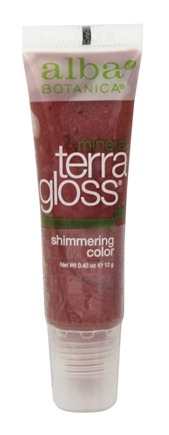 Alba Botanica - TerraGloss Shimmering Natural Lip Color Bloom - 0.42 oz.