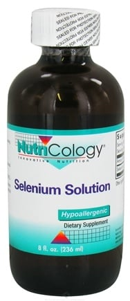 DROPPED: Nutricology - Selenium Solution Liquid - 8 oz. CLEARANCED PRICED