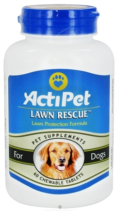 DROPPED: ActiPet - Lawn Rescue For Dogs - 60 Chewable Tablets CLEARANCE PRICED