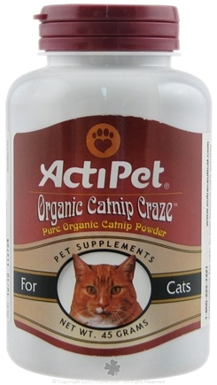 DROPPED: ActiPet - Organic Catnip Craze - 45 Grams