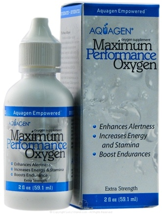DROPPED: Aquagen - Maximum Performance Oxygen Supplement - 2 oz. CLEARANCE PRICED