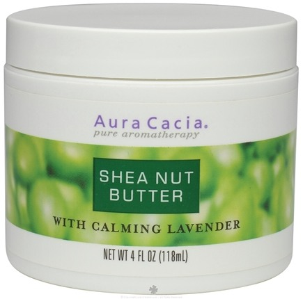 DROPPED: Aura Cacia - Aromatherapy Body Butters Shea Nut with Lavender - 4 oz. CLEARANCE PRICED