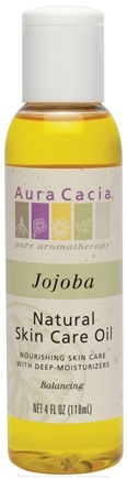 DROPPED: Aura Cacia - Natural Skin Care Oil Jojoba - 4 oz.