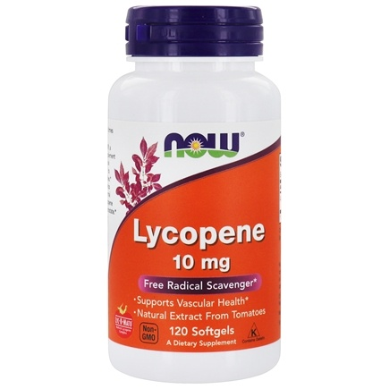 NOW Foods - Lycopene 10 mg. - 120 Softgels