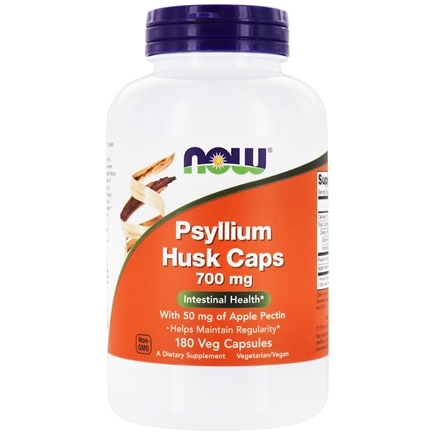 NOW Foods - Psyllium Husk Caps 700 mg. - 180 Capsules