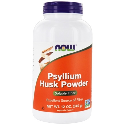 NOW Foods - Psyllium Husk Powder - 12 oz.