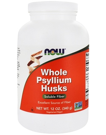 NOW Foods - Psyllium Husk Whole - 12 oz.