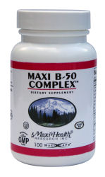 DROPPED: Maxi-Health Research Kosher Vitamins - B50 Complex - 250 Capsules