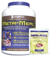 DROPPED: MRM - Meta-Meal Deluxe French Vanilla Shake - 3.5 lbs.