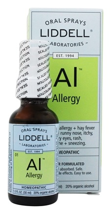 Liddell Laboratories - Allergy Homeopathic Oral Spray - 1 oz.