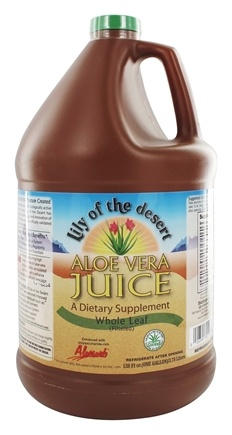 Lily Of The Desert - Aloe Vera Juice Whole Leaf Organic Gallon - 128 oz.