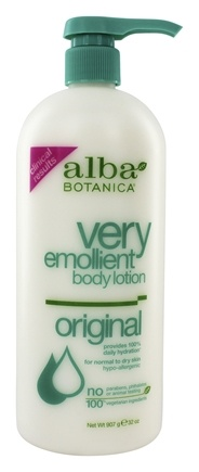 Alba Botanica - Very Emollient Body Lotion Original - 32 oz.