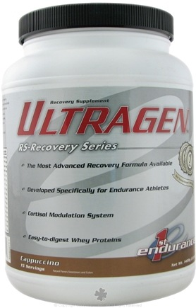 1st Endurance - Ultragen Cappucino - 3 lbs. CLEARANCE PRICED