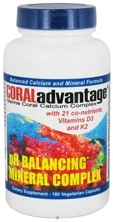 DROPPED: Advanced Nutritional Innovation - CORALadvantage Advanced Mineral Complex - 180 Vegetarian Capsules