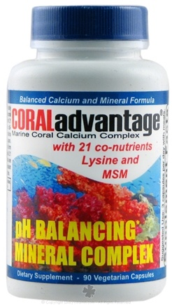 DROPPED: Advanced Nutritional Innovation - CORALadvantage- Advanced Mineral Complex - 90 Vegetarian Capsules