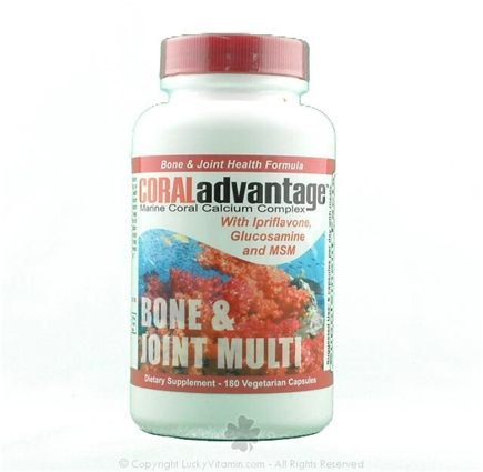 DROPPED: Advanced Nutritional Innovation - CORALadvantage- Bone & Joint Multi - 180 Vegetarian Capsules