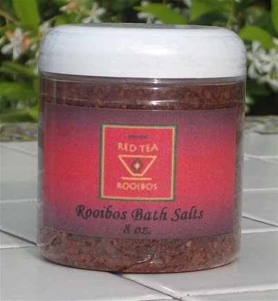 DROPPED: African Red Tea Imports - Rooibos Bath Salt - 8 oz.