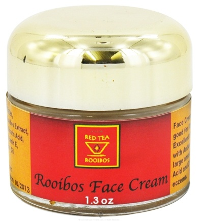DROPPED: African Red Tea Imports - Rooibos Face Cream - 1.3 oz. CLEARANCE PRICED