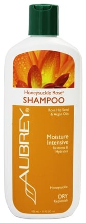Aubrey Organics - Shampoo Moisture Intensive Honeysuckle Rose - 11 oz.