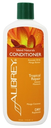 Aubrey Organics - Conditioner Island Naturals Tropical Repair Mango Coconut - 11 oz.