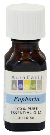 Aura Cacia - Essential Oil Blends Euphoria - 0.5 oz.