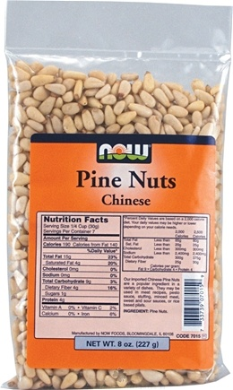 DROPPED: NOW Foods - Pine Nuts - 8 oz.