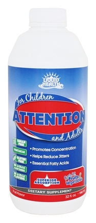 Liquid Health - Attention - 32 oz.
