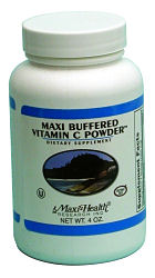 DROPPED: Maxi-Health Research Kosher Vitamins - Buffered Vitamin C Powder - 4 oz.