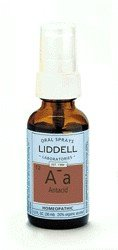 DROPPED: Liddell Laboratories - Aa Antacid Homeopathic Oral Spray - 1 oz.