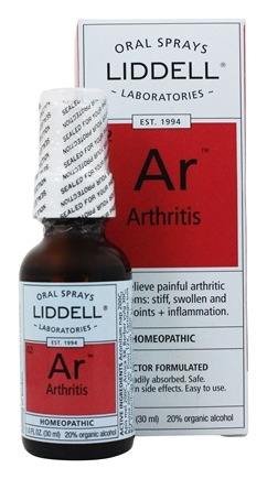 Liddell Laboratories - Arthritis with Cartilage Homeopathic Oral Spray - 1 oz.