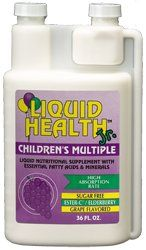 DROPPED: Liquid Health - Children's Multiple Vitamin & Mineral Liquid - 8 oz.