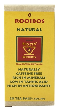 African Red Tea Imports - Rooibos Red Tea Natural - 20 Tea Bags