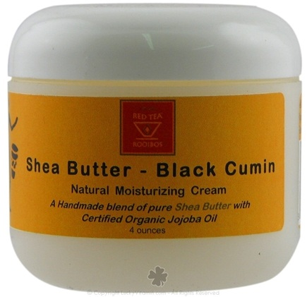 DROPPED: African Red Tea Imports - Shea Butter Moisturizer with Black Cumin Seed - 4 Oz.