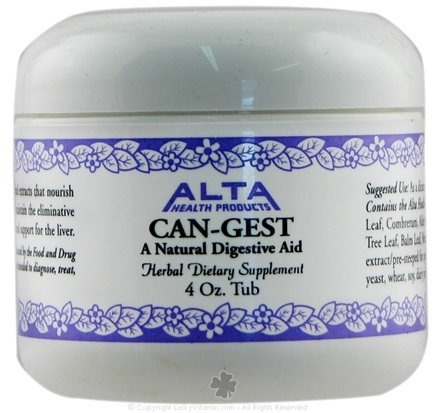 DROPPED: Alta Health - Can-Gest Powder (Herbal Extract) - 4 oz.