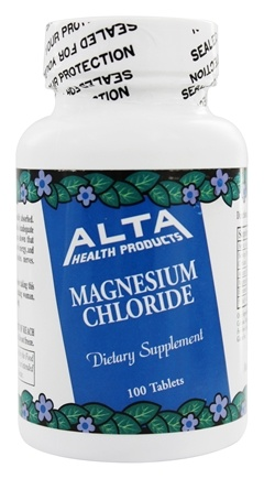 Alta Health - Magnesium Chloride - 100 Tablets